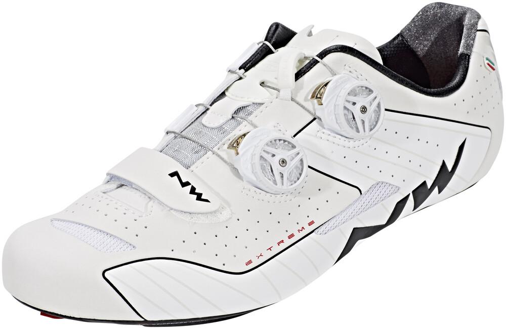Blanc Chaussures Northwave Extrêmes Hommes 44 2018 Chaussures De Vélo De Route Cliquez W2bvY